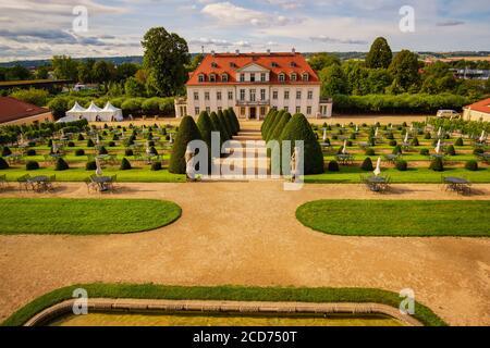 Radebeul palace Wackerbarth - Stock Photo