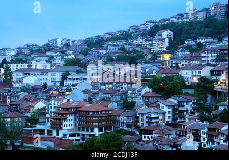 Early Evening in Veliko Tarnovo - Stock Photo