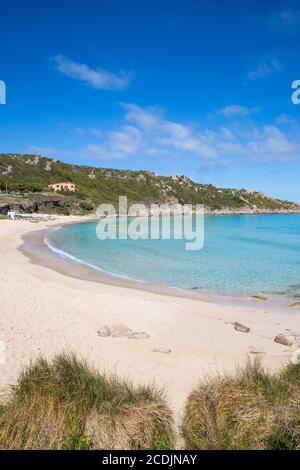 taly, Sardinia, Santa Teresa Gallura, Rena Bianca beach - Stock Photo