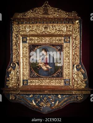 Raffaello Sanzio  The Conestabile Madonna, about 1503-4 -The State Hermitage Museum, St Petersburg - Stock Photo