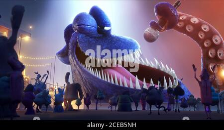 The Kraken Hotel Transylvania 3 Summer Vacation 2018 Stock Photo Alamy