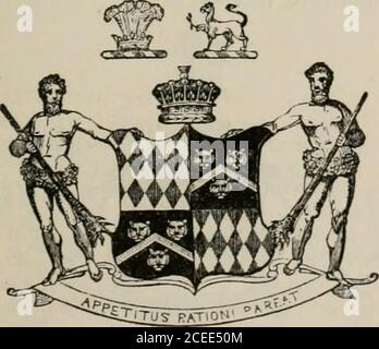 . The peerage of the British Empire as at present existing : arranged and printed from the personal communications of the nobility. FITZ-HARDINGE, EARL. (Berkeley.) William-Fitz-Hardinge Berkeley, Earl Fitz-Hardinge, andBaron Segrave of Berkeley Castle, Co. Gloucester, in the Peerageof the United Kingdom; Lord Lieutenant of the County of Glou-cester, and Colonel of the South Gloucestershire Militia j was b. 26Dec. 17^6, and is unmarried. His Lordsliip is the eldest son of Frederick-Augustus, 5th Earl of Berkeley,*^o-heir of the ancient Barony of Segrave, by Mary, daughter of Mr. William Cole,w - Stock Photo