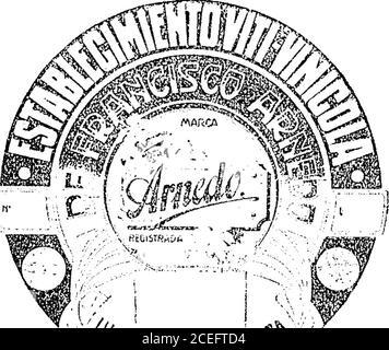 """. Boletín Oficial de la República Argentina. 1909 1ra sección. ^ríro ^pefiaí ..«am""""  4rrt, t^t«Ulli§«. Junio 25 de 1909.—Torre, De Bciicdcltiy Cía.—Artículos de la clase 63. v-3 julio. Acta NQ 26.617. ^/ífwiYnrf^ y Junio 23 de 1909.—Francisco Arnedo.-Artículos de la_s clases 63 y 69. .. ... v-3 julio. 1264 boletín OFICIAL —Buenos Aires, Miéreoics 30 de Junio de 1909 Acta ETo 20.583 - Stock Photo"""