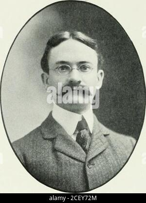 . Picturesque New London and its environs : Grofton, Mystic, Montville, Waterford, at the commencement of the twentieth century. tional telegraphic contest held atMadison Square Garden, New YorkCity, he was awarded the first prizefor rapid sending. Mr. Edney be-came connectedwith the brok-erage firm of F.A. Rogers &C o m p a n y i n1S99. and openedtheir New Lon-(1 I) n 0Ific e in.1 u n c of thatyear. This firmsleased wire sys-tem is the mostextensive of thatin operation byany similar con-c e r n in NewEngland. Theiroffices connectedliy private wiresare about fifty innumber. Thej-have also nume