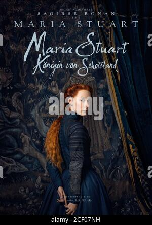SAOIRSE RONAN POSTER, MARY QUEEN OF SCOTS, 2018 - Stock Photo
