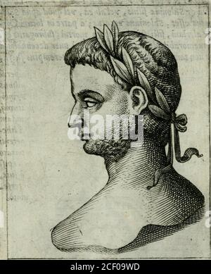 . Romanorvm imperatorvm effigies : elogijs ex diuersis scriptoribus per Thomam Treteru S. Mariae Transtyberim canonicum collectis. ciuilibusbellisyhinc inde ortps  mi ferrimildifcerperetur . In Trincipe qui w luxu,focordia&omniturpitudiriurn voluptatumj,genere volutabatur ,affui(Je quando j3 aEmi rigor quidam(quodvaldèmirandumejl) &yudadaperhibetur:àlibe-ìalitate quofy comm&ulatur, quod nihil vmquam petentidenegaucrit. In CbriJìianos paulb mitior fmt. ComparatoexercitU, càm aduerfus ^ureolum expeditionem fufcepif-fet ,eundemfy propè viffum% Mediolani cbfediffet, àfuk%Aureoli commento, vnacàm&