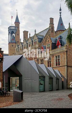 Gruuthusemuseum, Bruges, West Flanders, Belgium - Stock Photo