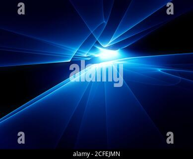 abstract technology horizon background