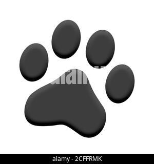 Paw print pet