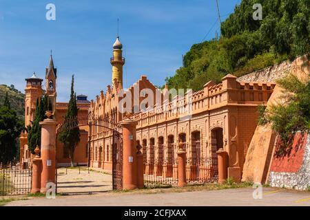 Palace Castillo de la Glorieta place built in 1890s by a minining baro, architectural mishmash, Sucre, Bolivia, Chuquisaca,  Bolivia, Latin America