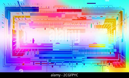 abstract colorful background with rectangles