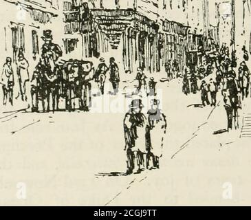 . Paris and its story, by T. Okey; illustrated by Katherine Kimball & O. F. M. Ward . - Stock Photo