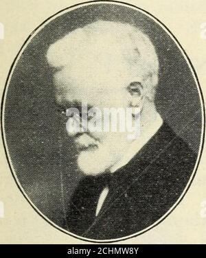 . Norsk lutherske prester i Amerika, 1843-1913 . 1905.. - Stock Photo