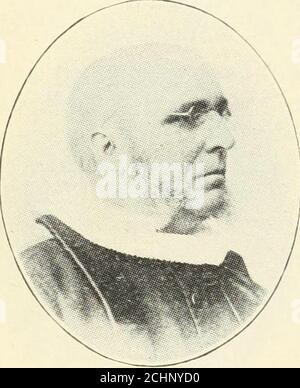 . Norsk lutherske prester i Amerika, 1843-1913 . 1877.. 1877. - Stock Photo