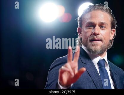 Charlie Hunnam attends the world premiere of 'True History of the Kelly Gang' at the Toronto International Film Festival (TIFF) in Toronto, Ontario, Canada September 11, 2019. REUTERS/Mark Blinch