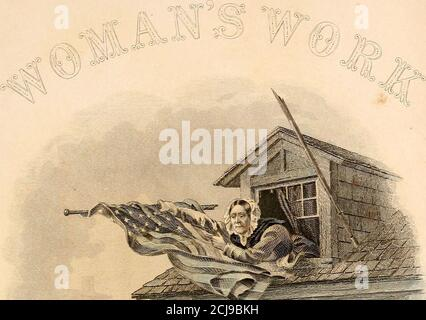 . Woman's work in the Civil War : a record of heroism, patriotism and patience . - Stock Photo