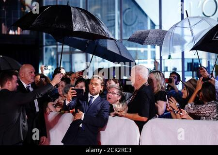 Charlie Hunnam arrives at the world premiere of 'True History of the Kelly Gang' at the Toronto International Film Festival (TIFF) in Toronto, Ontario, Canada September 11, 2019. REUTERS/Mark Blinch