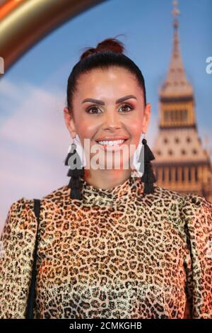 TV/Radio presenter Shanie Ryan poses as he arrives to attend the UK premiere of 'Sonic the Hedgehog', in London, Britain January 30, 2020. REUTERS/Antonio Bronic - Stock Photo