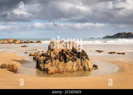 Molyneux Bay, Otago, South Island, New Zealand, Pacific - Stock Photo
