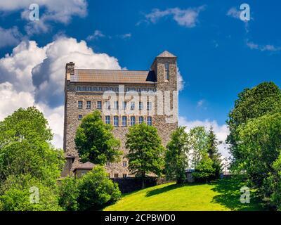 NS-Ordensburg, Generaloberst-Beck-Kaserne, Sonthofen, Oberallgäu, Allgäu, Swabia, Bavaria, Germany - Stock Photo