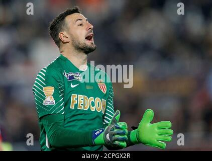 Soccer Football - Coupe de la Ligue Final - Paris St Germain vs AS Monaco - Matmut Atlantique Stadium, Bordeaux, France - March 31, 2018   Monaco's Danijel Subasic    REUTERS/Regis Duvignau - Stock Photo
