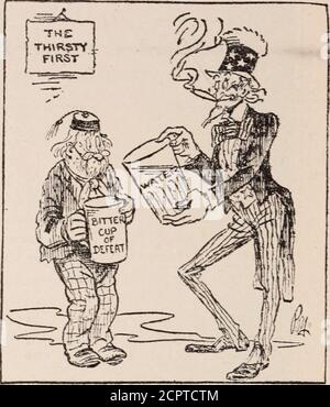 . Baltimore and Ohio employees magazine . FIRST —Ripley in the Baltimore Star.Who Cares About Shantung?. —From The London Evening News. UNCLE SAM: You neednt grouse. Just look at the cupIve got to swallow! For Heavens Sake, Gentlemen. Be Reasonable - Stock Photo