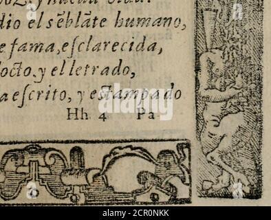 . Emblemas morales de Don Sebastian de Couarrubias Orozco ... . - Stock Photo