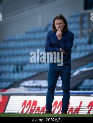 Blackburn, UK. 19th Sep, 2020. during the Sky Bet Championship behind closed doors match between Blackburn Rovers and Wycombe Wanderers at Ewood Park, Blackburn, England on 19 September 2020. Photo by Andy Rowland. Credit: PRiME Media Images/Alamy Live News - Stock Photo