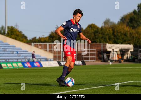 Oxford, UK. 19th Sep, 2020. Luke O Nien of Sunderland during the Sky Bet League 1 behind closed doors match between Oxford United and Sunderland at the Kassam Stadium, Oxford, England on 19 September 2020. Photo by Nick Browning/PRiME Media Images. Credit: PRiME Media Images/Alamy Live News - Stock Photo