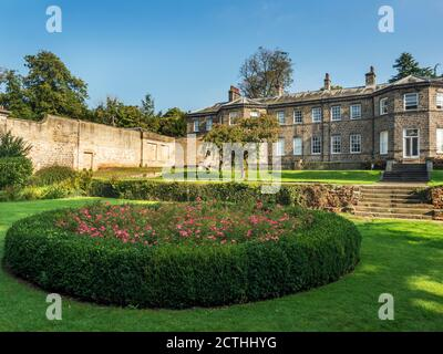 Conyngham Hall a grade II star listed building in Knaresborough North Yorkshire England - Stock Photo