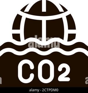 Co2 Smoulder Smoke Steam Vector Icon - Stock Photo