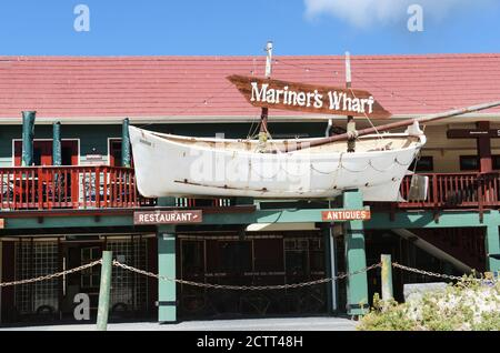 Mariner's Wharf in Hout Bay, Cape Town, South Africa.