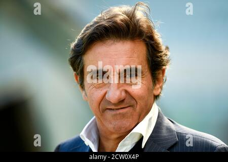 Turin, Italy. 26th Sep, 2020. TURIN, ITALY - September 26, 2020: Urbano Cairo looks on prior to the Serie A football match between Torino FC and Atalanta BC. (Photo by Nicolò Campo/Sipa USA) Credit: Sipa USA/Alamy Live News - Stock Photo