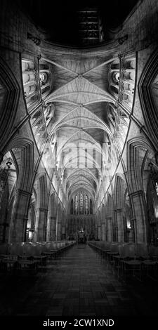 Interior of Southwark Cathedral (The Cathedral and Collegiate Church of St Saviour and St Mary Overie), South London, United Kingdom