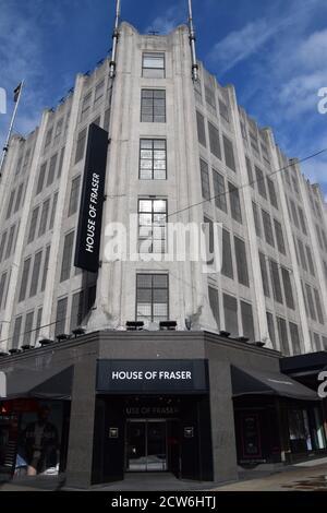 House Of Fraser department store, Oxford Street, London, UK