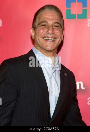 Actor Tony Danza arrives for the 16th annual Keep Memory Alive 'Power of Love Gala' and 70th birthday celebration for Muhammad Ali at the MGM Grand Garden Arena in Las Vegas, Nevada February 18, 2012. Proceeds from the event benefit the Cleveland Clinic Lou Ruvo Center for Brain Health in Las Vegas and the Muhammad Ali Center in Louisville, Kentucky. REUTERS/Steve Marcus (UNITED STATES - Tags: ENTERTAINMENT SPORT BOXING) - Stock Photo
