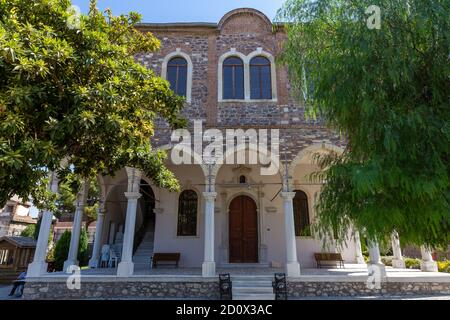 Saint Voukolos Church, which started to be built in 1886 by the Armenians of the Greek Orthodox faith, was opened to worship in 1887. It was the only - Stock Photo