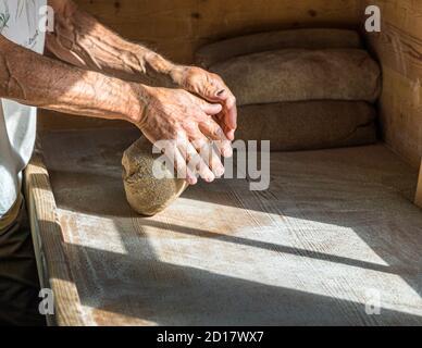 Bread-Baking workshop in Goppenstein-Erschmatt, Switzerland