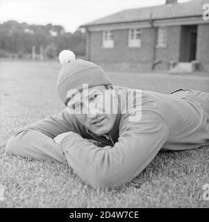 The team of Italy's training camp in Durham. Enrico Albertosi, 1966 FIFA World Cup - England. --- Durham (Inghilterra), Luglio 1966. Campionato mondiale di calcio Inghilterra 1966. Ritiro della Nazionale italiana. Nella foto: Enrico Albertosi. - Stock Photo