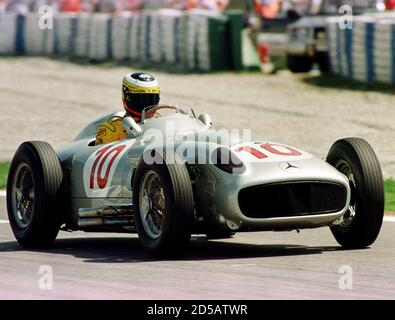 Pedro De La Rosa Driving His Formula One Mclaren Mercedes Racecar In Stock Photo Alamy