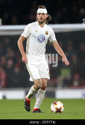 Ostersunds FK's Tom Pettersson - Stock Photo