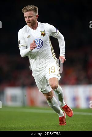 Ostersunds FK's Dennis Widgren - Stock Photo