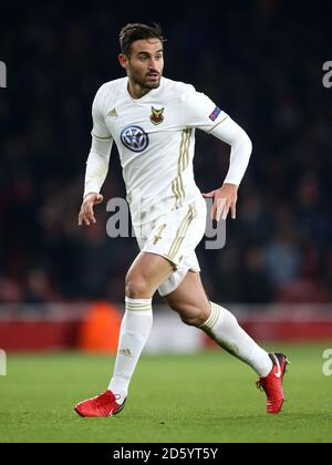 Ostersunds FK's Sotirios Papagiannopoulos - Stock Photo