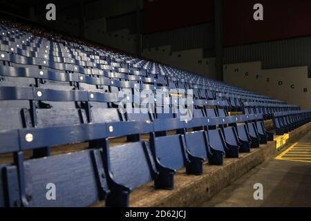 General view of seating in the stands