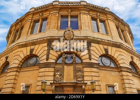 The Sheldonian Theatre, Oxford, England, United Kingdom - Stock Photo