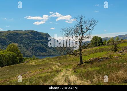 Ullswater Rural Scene Cumbria