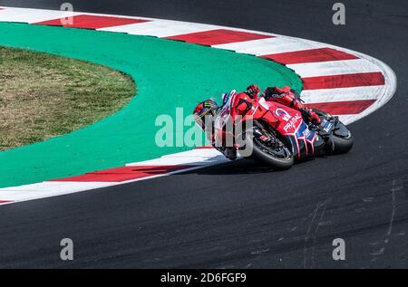 Rimini - Misano World Circuit Marco Simoncelli: Bagnaia  rider - Stock Photo