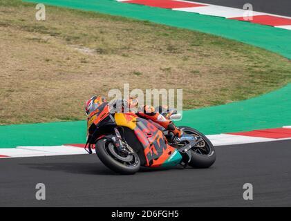 Rimini - Misano World Circuit Marco Simoncelli: Pol Espargaro rider - Stock Photo