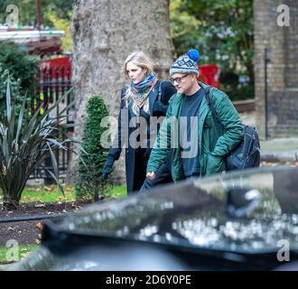London, UK. 20th Oct, 2020. Dominic Cummings arrives at Downing Street London. Credit: Ian Davidson/Alamy Live News