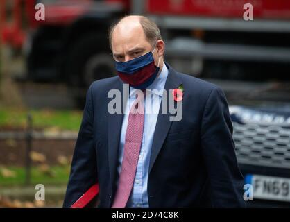 London, UK. 20th Oct, 2020. Ben Wallace, Secretary of State for Defence, arrives for the weekly Cabinet meeting. Credit: Mark Thomas/Alamy Live News